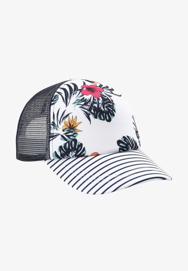 Cap - bright white badami