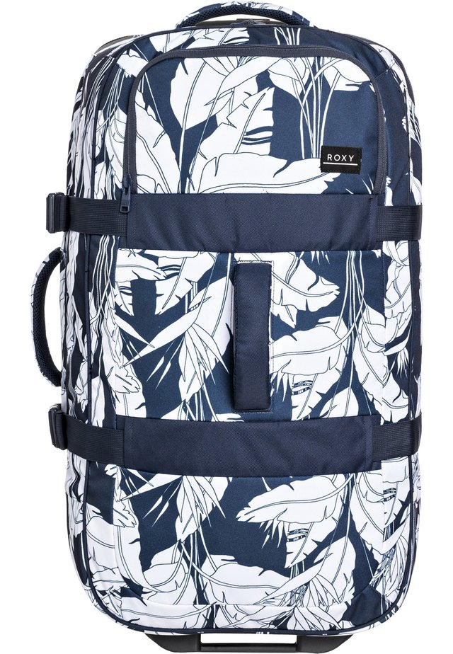 ROXY™ IN THE CLOUDS 87L - GROSSER KOFFER MIT ROLLEN ERJBL03192 - Trolley - mood indigo flying flowers s