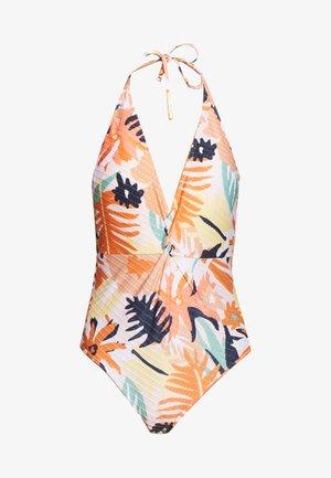Swimsuit - peach blush bright skies