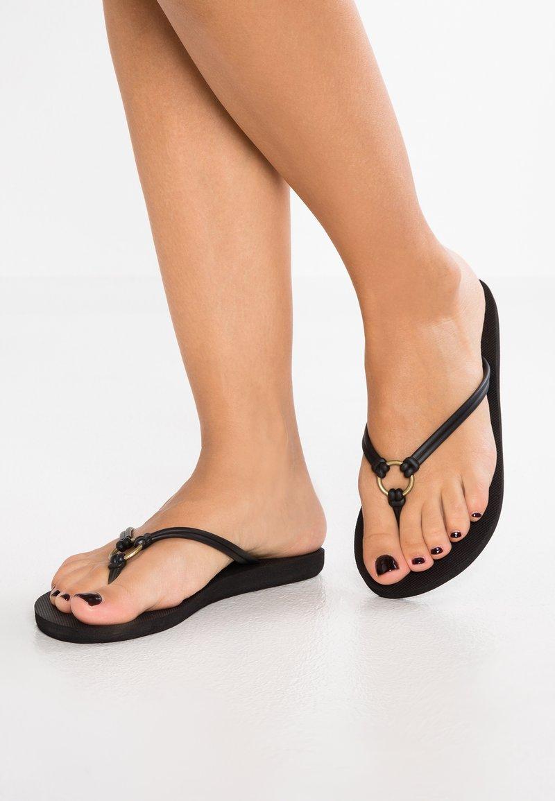 Roxy - SOLIS - Pool shoes - black