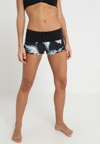 Roxy - ENDLESS - Bikiniunderdel - anthracite tropical love - 0