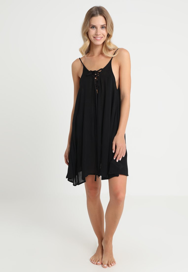 Roxy - DRESS - Beach accessory - anthracite