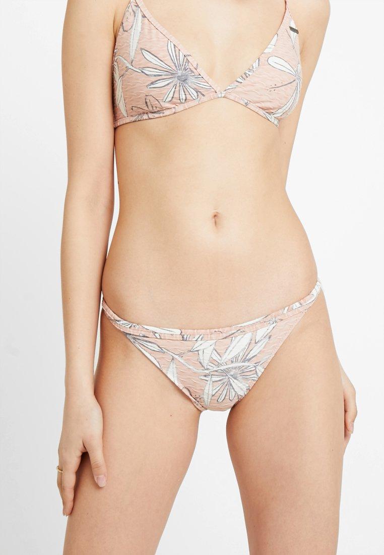 Roxy - HAILEY BIEBER H AND K PRT MINI - Bikini bottoms - misty rose