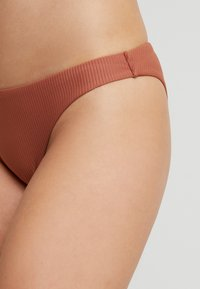 Roxy - SISTERS MOD BOTTOM - Bikini bottoms - copper brown - 4