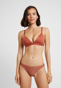 Roxy - SISTERS MOD BOTTOM - Bikini bottoms - copper brown - 1