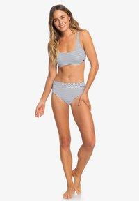Roxy - MIT MITTELHOHEM B - Bikini bottoms - anthracite - 1