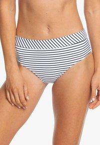 Roxy - MIT MITTELHOHEM B - Bikini bottoms - anthracite - 0