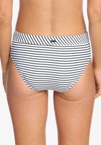 Roxy - MIT MITTELHOHEM B - Bikini bottoms - anthracite - 2