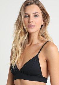 Roxy - TRIANGLE - Top de bikini - true black - 4