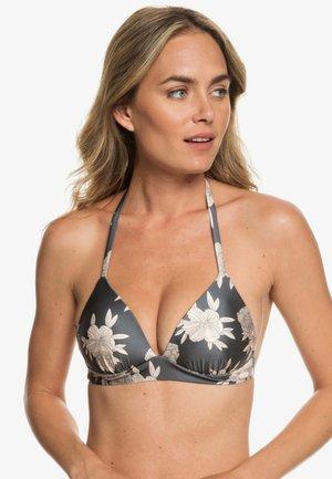 ROMANTIC SENSES - Haut de bikini - anthracite/rose