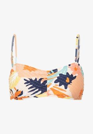 SEA BAND - Bikini top - peach blush bright skies