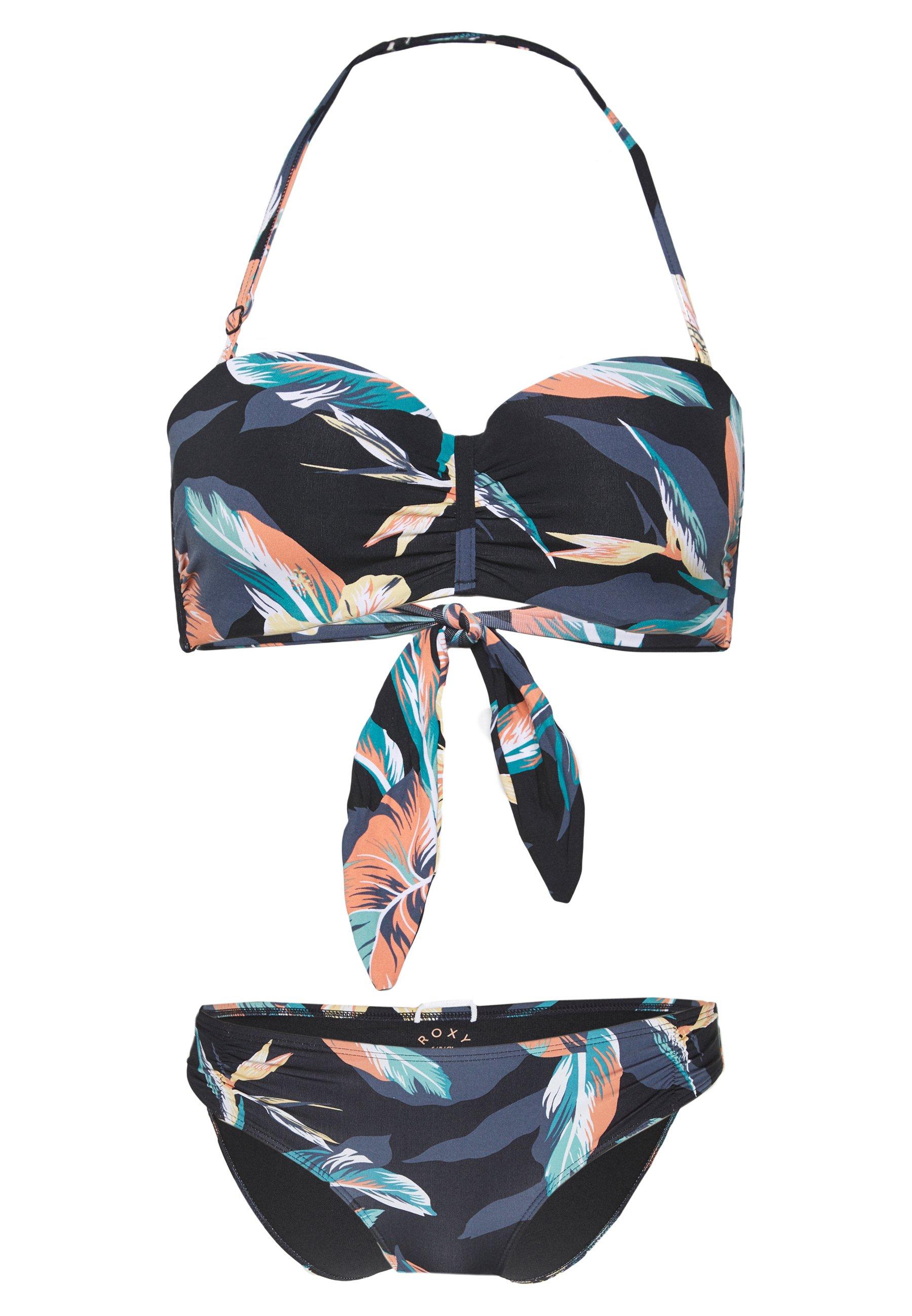 Roxy Set - Bikini Anthracite 17xYh8v