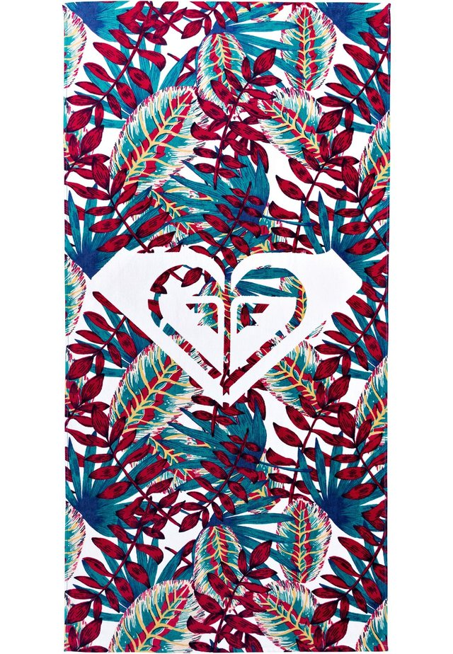 Beach towel - red/blue