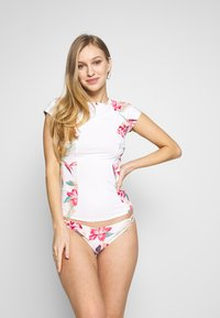 Roxy - FASHION CS LYC J SFSH WBB7 - Bikini top - bright white tropic call - 1