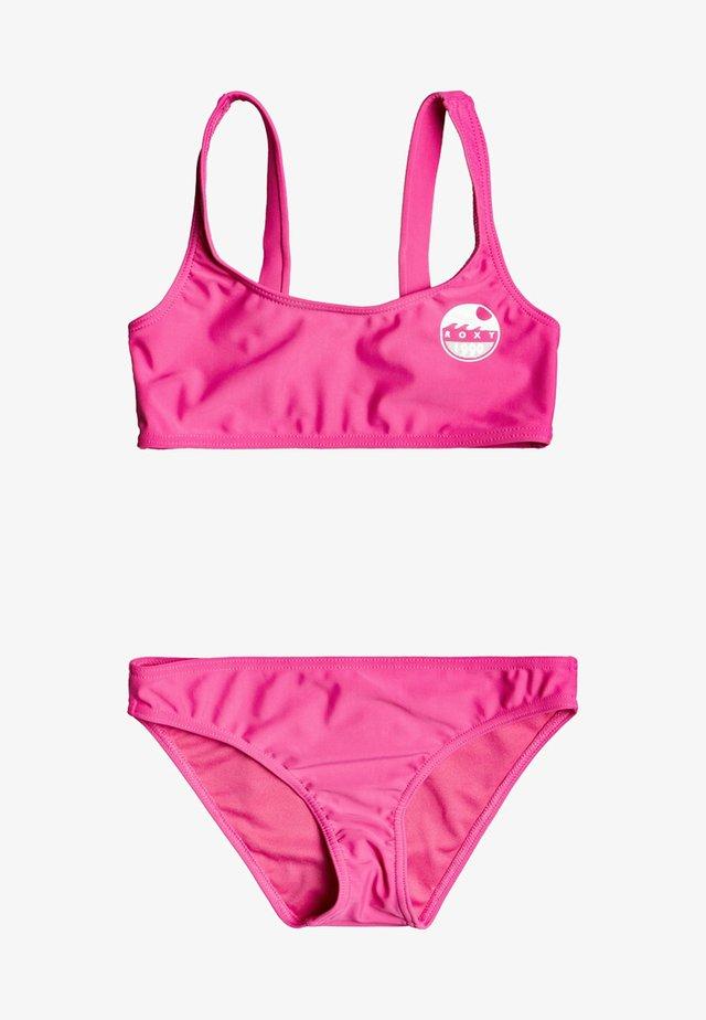 SET - Bikini - pink flambe