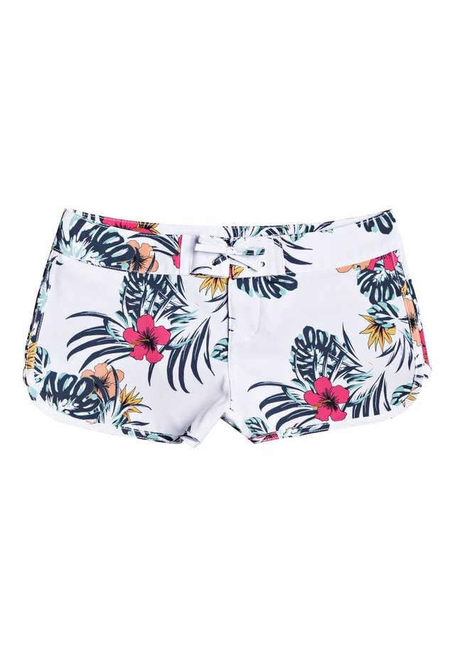 ROXY™ LOVE WAIMEA - BOARD SHORTS FOR GIRLS 8-16 ERGBS03073 - Swimming shorts - bright white badami