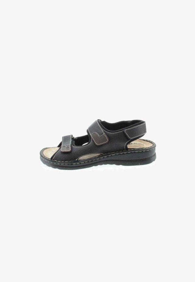 Walking sandals - schwarz