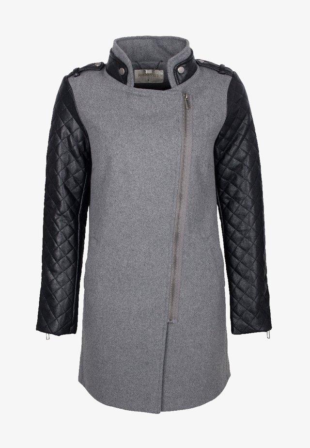 Wintermantel - grey melange