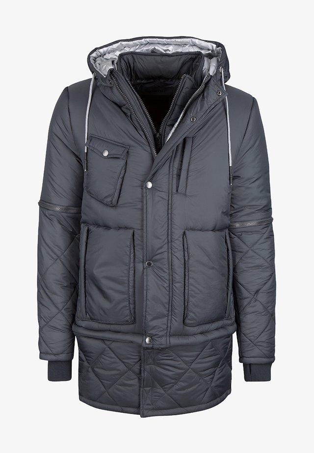 Wintermantel - dark grey
