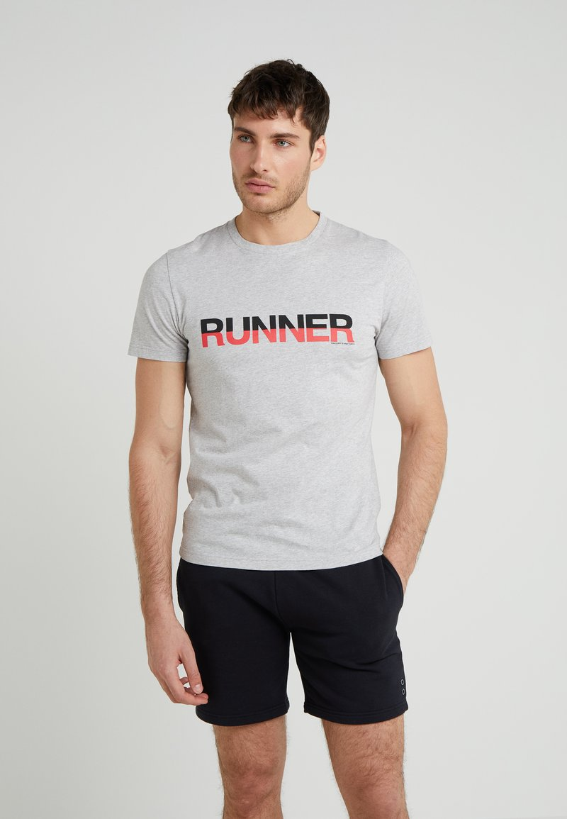 Ron Dorff - RUNNER - T-Shirt print - grey melange