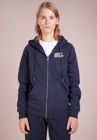 Ron Dorff - DISCIPLINE - Zip-up hoodie - navy - 0