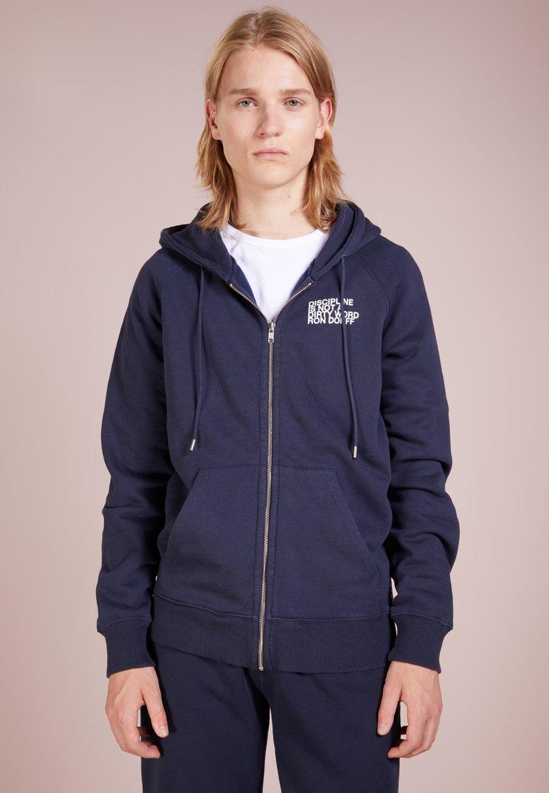 Ron Dorff - DISCIPLINE - Zip-up hoodie - navy