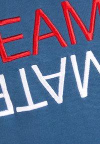 Ron Dorff - TEAM MATE RAISED EMBROIDERY - Sweatshirt - baltic blue - 4