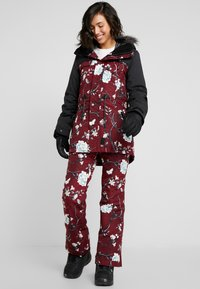 Rojo - SNOW DAY BIB - Skibroek - red - 1