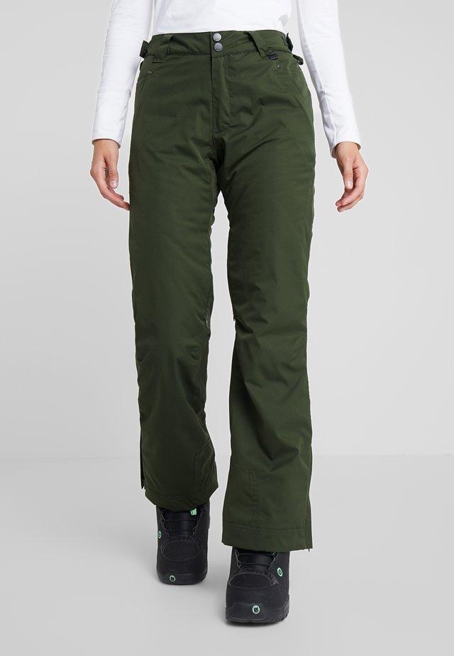 PANT - Spodnie narciarskie - kombu green