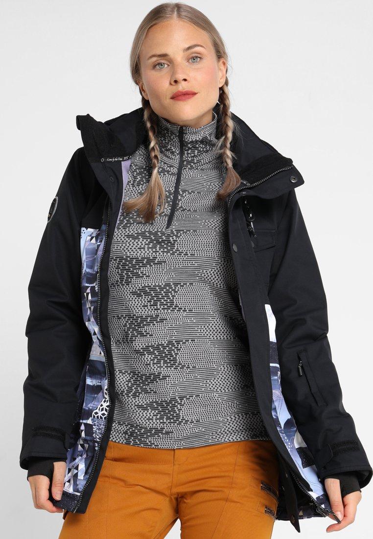 Rojo - ASTER - Snowboardjacke - true black/misty peaks