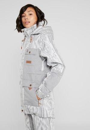 ASHTON JACKET - Snowboardová bunda - glacier grey