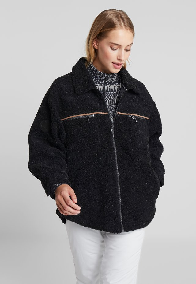 RETRO MOUNTAIN - Outdoor jacket - true black