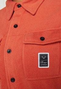 Rojo - MAIN STREET - Camicia - burnt brick - 6