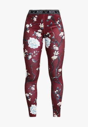 WOMENS FULL LENGTH PANT - Långkalsonger - red
