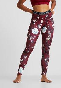 Rojo - WOMENS FULL LENGTH PANT - Unterhose lang - red - 0