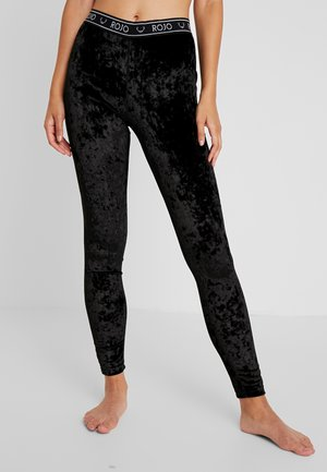 WOMENS FULL LENGTH PANT - Onderbroek - true black