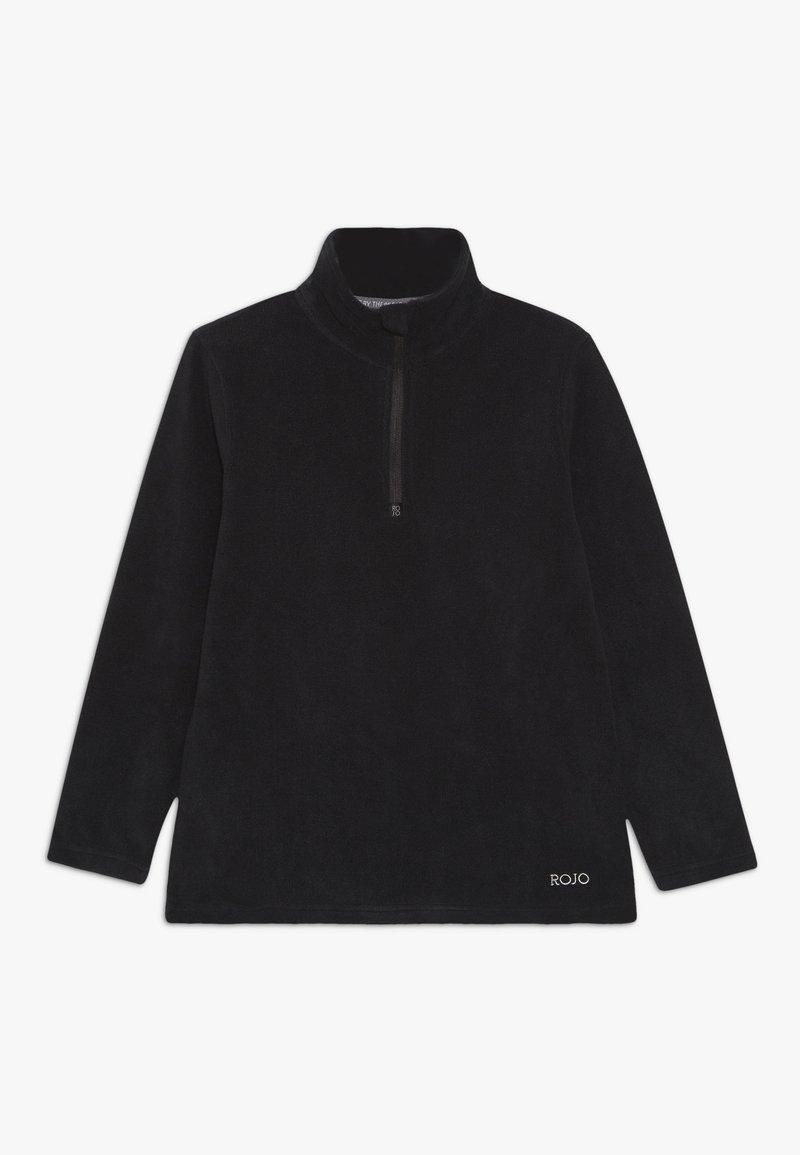 Rojo - KEZZA JUNIOR - Fleece jumper - true black