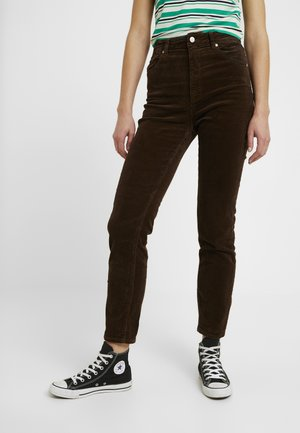 DUSTERS - Trousers - brown