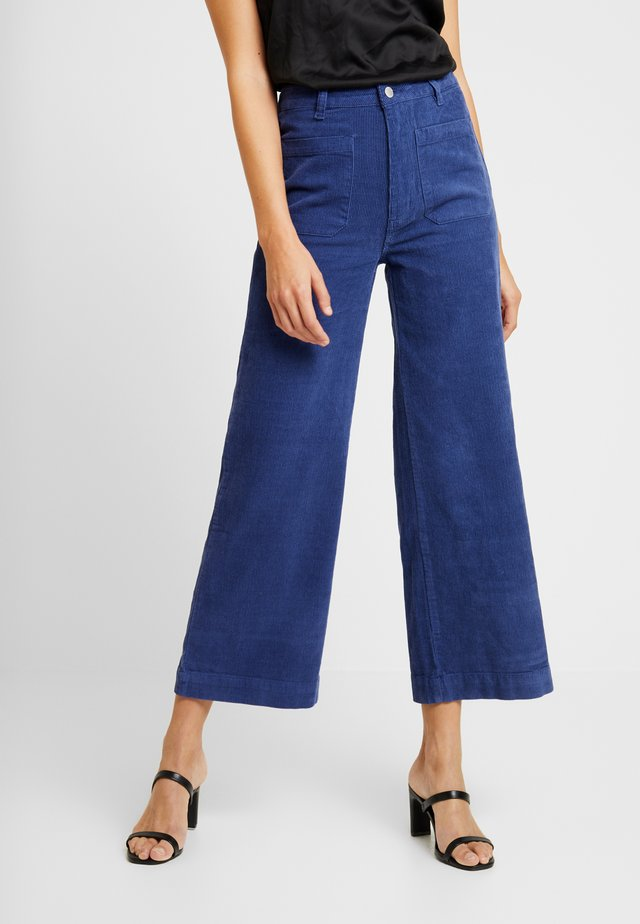 SAILOR PANT - Stoffhose - french blue