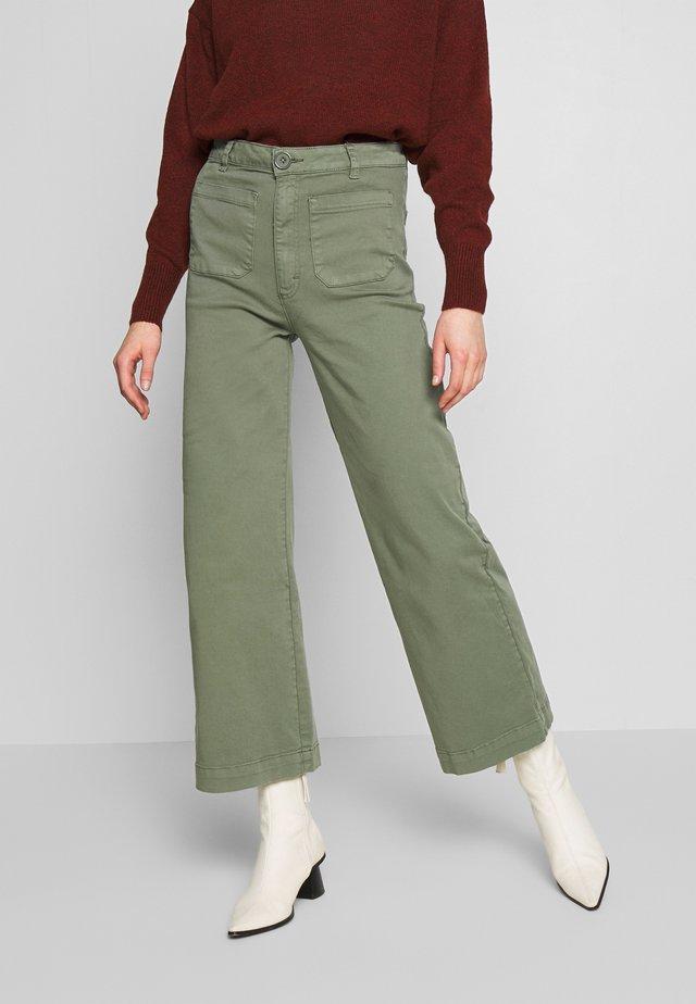 SAILOR PANT - Spodnie materiałowe - olive