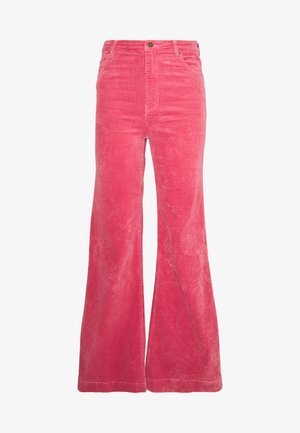 EASTCOAST FLARE - Trousers - rose
