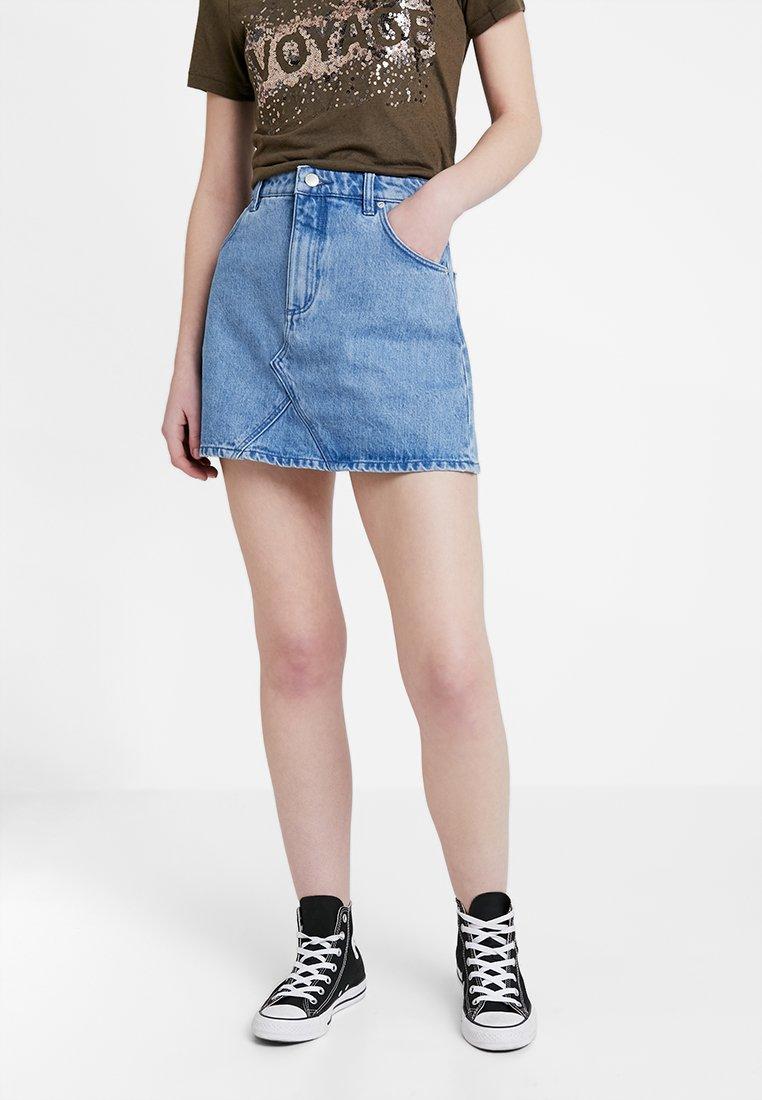 Rolla's - CLAUDIA SKIRT - A-line skirt - esprit blue