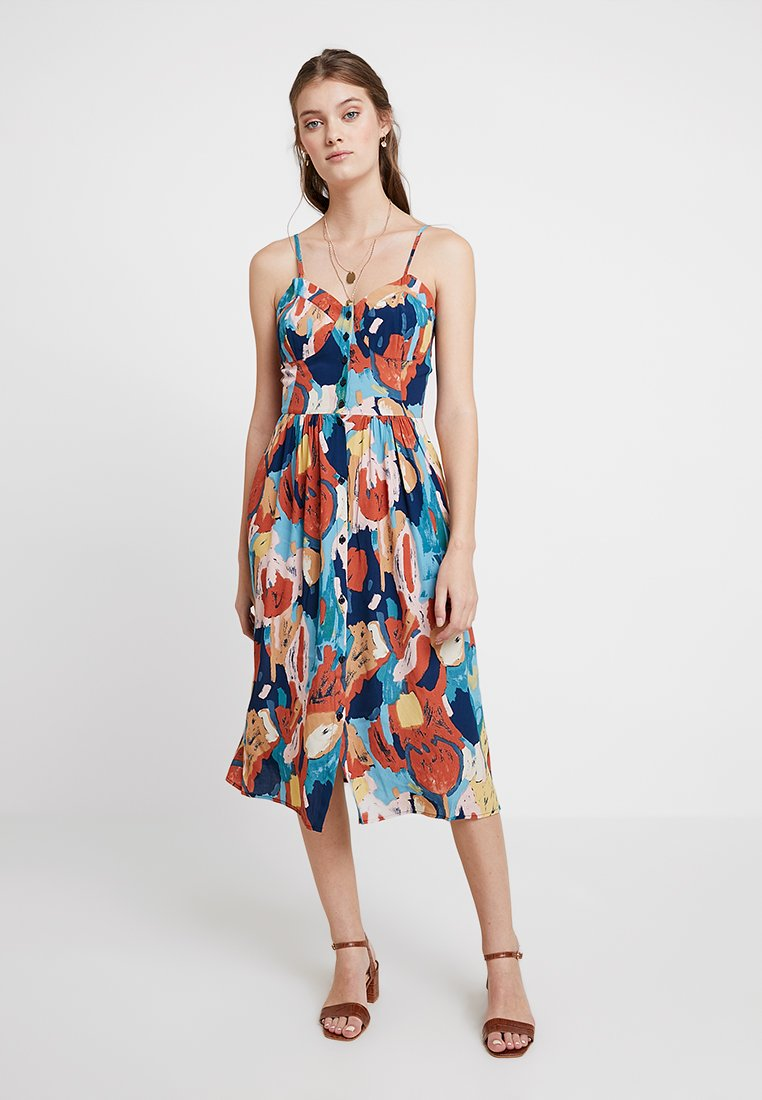 Rolla's - EVE PAINTED TULIP DRESS - Day dress - multi-coloured