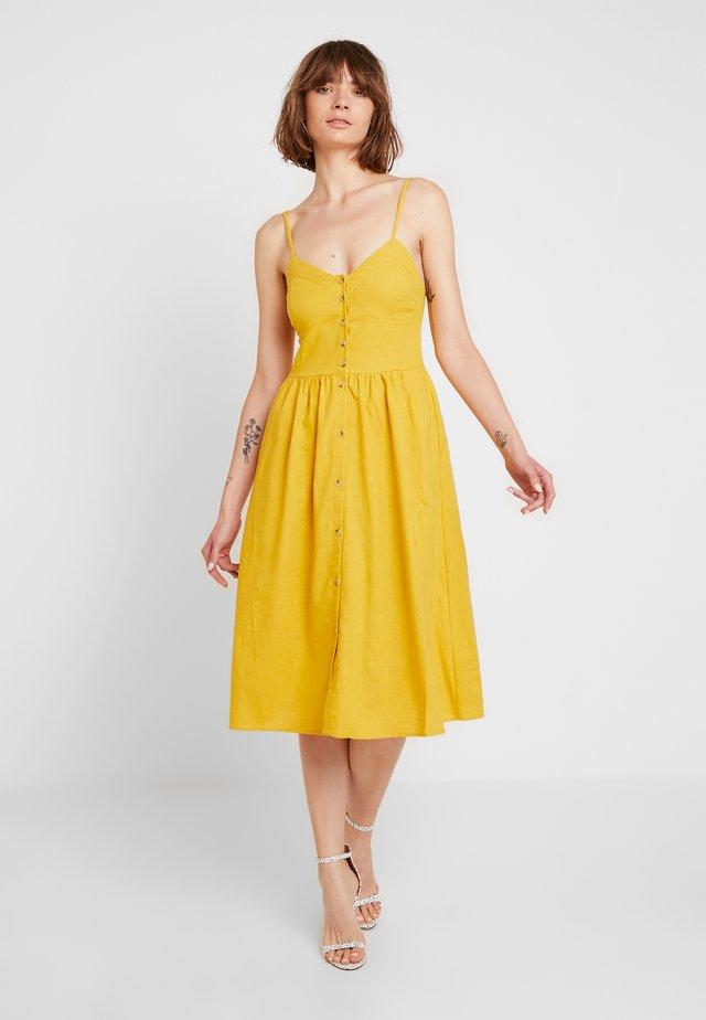 EVE DRESS - Shirt dress - gold