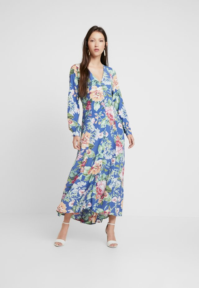 MILLA ROSE GARDEN - Maxi dress - blue