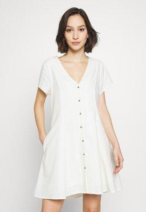 MILLA DRESS - Blousejurk - vintage white