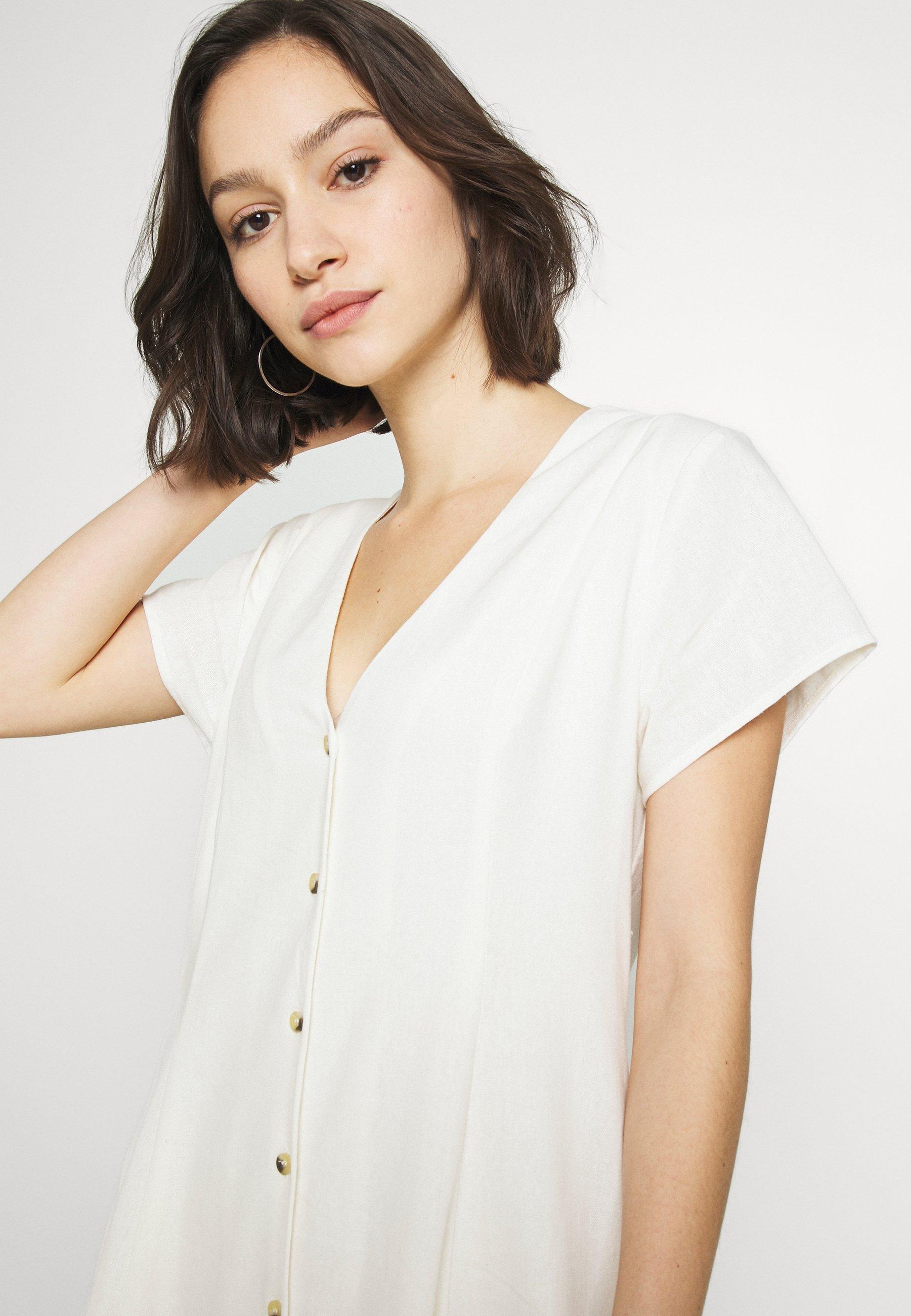 Rolla\'s Milla Dress - Blousejurk Vintage White