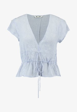 LULA BLOUSE MINI SPOT - Blouse - french blue