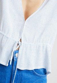 Rolla's - LULA BLOUSE MINI SPOT - Bluzka - french blue - 6