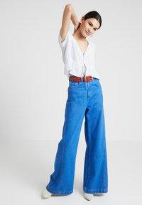 Rolla's - LULA BLOUSE MINI SPOT - Bluzka - french blue - 1